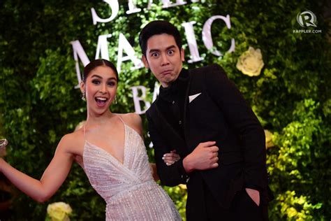 julia barretto on star magic ball 2017 in photos joshlia on the star magic ball 2017 red carpet