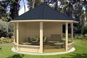 Pavillon Aus Holz Selber Bauen : runden pavillon selber bauen mit sessel m bliert ~ A.2002-acura-tl-radio.info Haus und Dekorationen