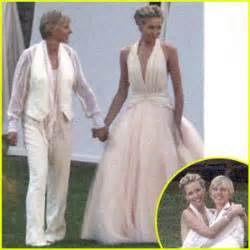 degeneres wedding and portia everyone is entitled to my opinion