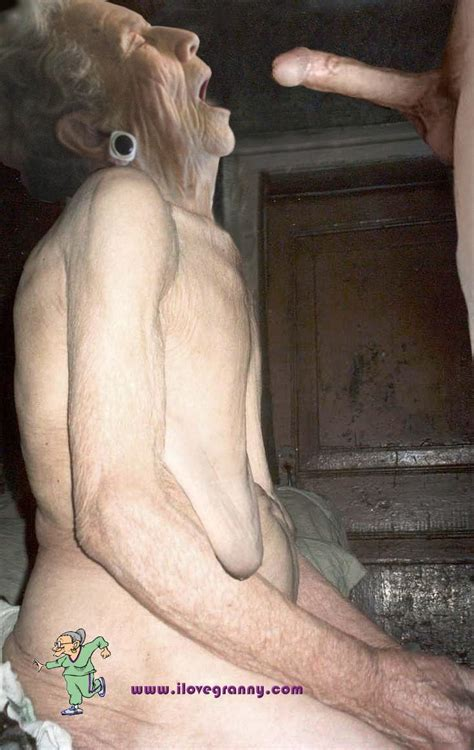 Very Old Oma Granny Nude