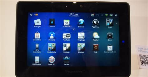 blackberry playbook  impressions finally native email   calendar digital trends