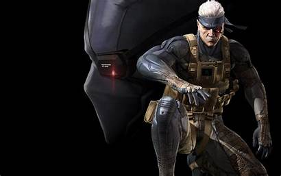 Snake Solid Gear Metal Patriots Guns Wallpapers