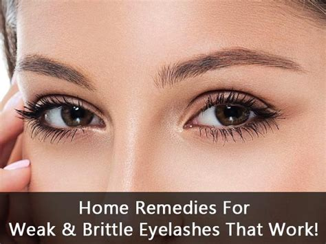 why are my eyelashes thinning home remedies for weak brittle eyelashes that work boldsky com