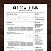 Resumes Designs Resumes Coverletters Resumes Help Work Resumes Resumes Professional Resume Template Pkg Resume Templates On Creative Professional Resume Template 836 Resume Templates Free Samples Examples Format Download Free
