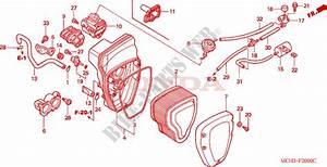 Air Cleaner For Honda Vtx 1800 C 2003   Honda Motorcycles