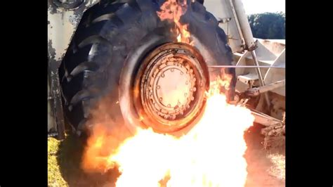 Mounting 2000lb Tires With Fire