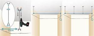 Suspentes Placo Tige Filetée : poser un faux plafond en plaques de pl tre plafond ~ Dailycaller-alerts.com Idées de Décoration