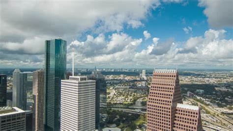 Jp Building Houston Observation Deck by View Towards The Houston Tx Galleria Seen From The