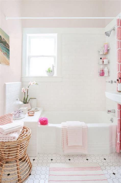vintage bathrooms  mint pink bathroom  inspired