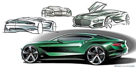 future bentley bentley exterior design director on the exp10 speed6 concept