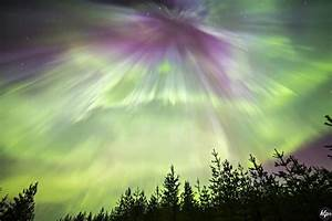 Powerful Solar Storms Ignite Vivid Auroras - NBC News