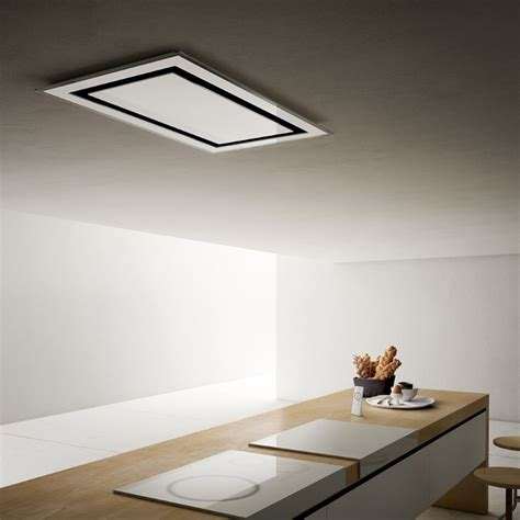 hotte aspirante cuisine encastrable elica cirrus 100cm ceiling extractor appliance city
