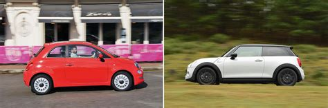 Fiat Cooper by New Fiat 500 Vs Used Mini Cooper Which Is Best What Car