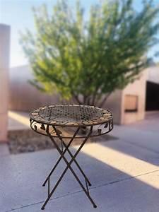 Table De Jardin Fer : table de jardin de fer antique style mobilier de jardin ebay ~ Nature-et-papiers.com Idées de Décoration