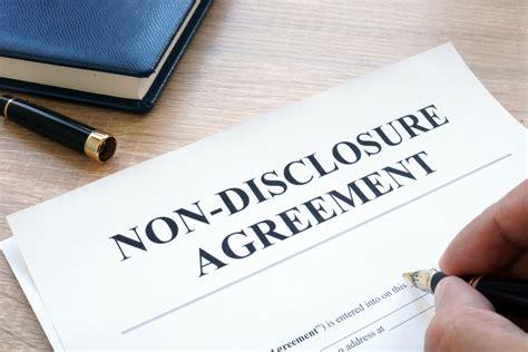 protect  secrets   disclosure agreement