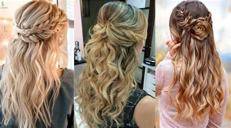 Wedding Hairstyles Half Up Half Down : 14893 Half-up Half-down Hairstyles For Wedding, Prom Etc