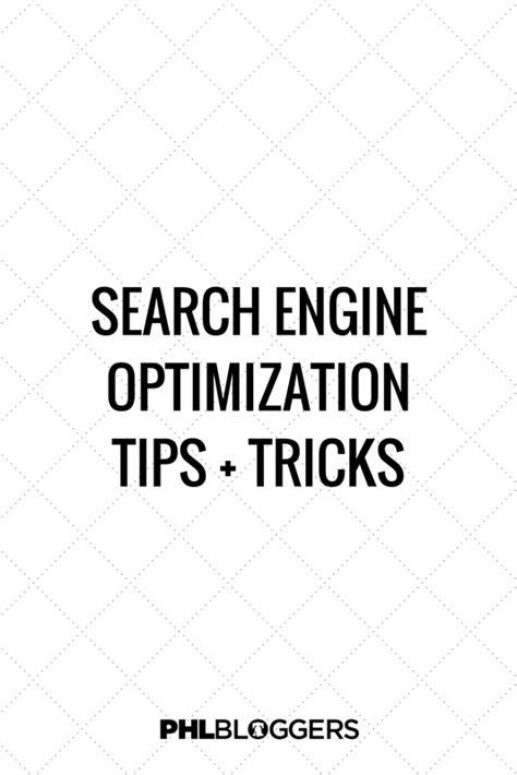 search engine optimization advice search engine optimization tips phlbloggers