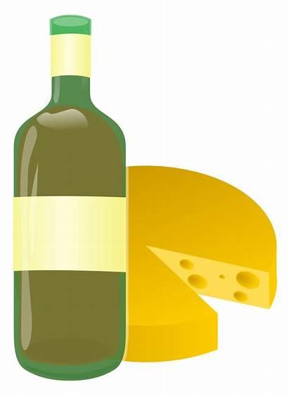 Wine Clipart Cheese Vino Queso Clip Formaggio