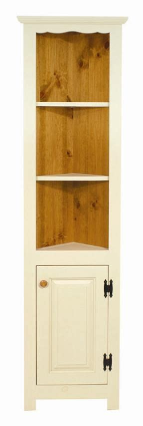 small corner hutch amish pine small corner hutch cupboard amish corner