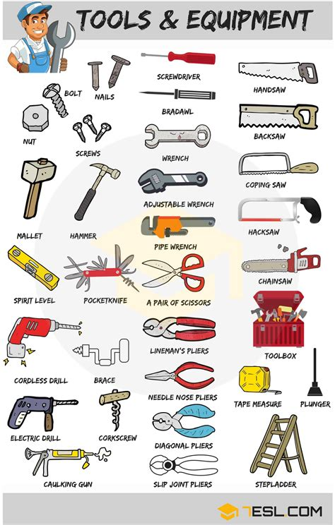 tools  equipment  household items devices