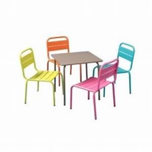 Table De Jardin Pour Enfant : table chaise jardin enfant pi ti li ~ Dailycaller-alerts.com Idées de Décoration