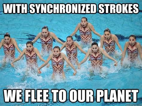 Synchronized Swimming Meme - 27 most funniest swimming meme pictures of all the time