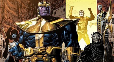 avengers infinity war thanos black order revealed