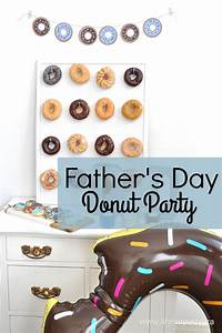 Father's Day Donut Party