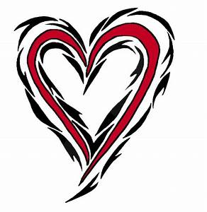 Heart Tribal Tatoo by MyMomSaysImCool on DeviantArt