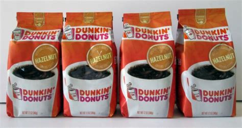 Earthy undertones and a strong hazelnut flavor make this classic roast a fan favorite. Dunkin Donuts Hazelnut Ground Coffee 12oz - PACK OF 4 Free Priority Mail 02/2021   eBay