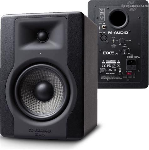 M-Audio › BX5 D3 › Speakers (active) - Gearbase   DJResource