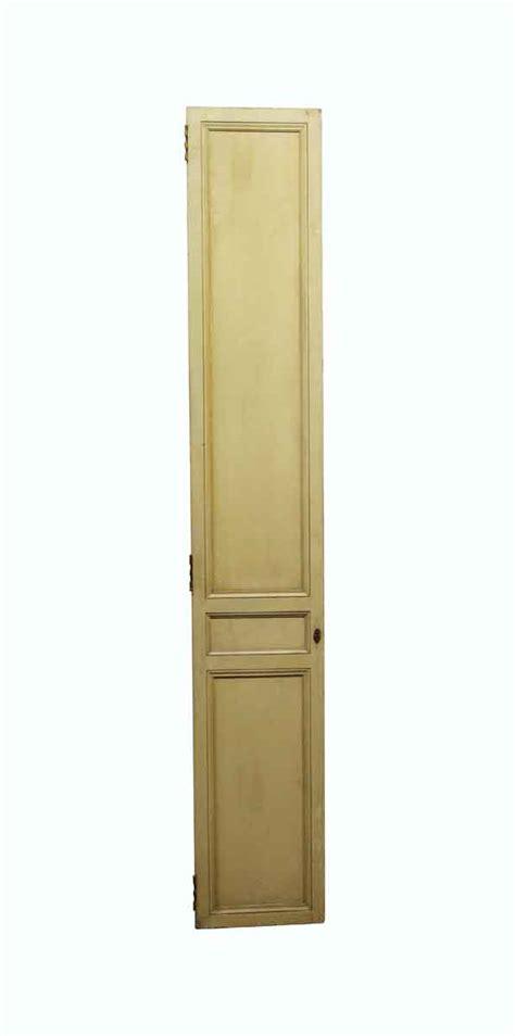 vintage narrow  panel closet door    olde good