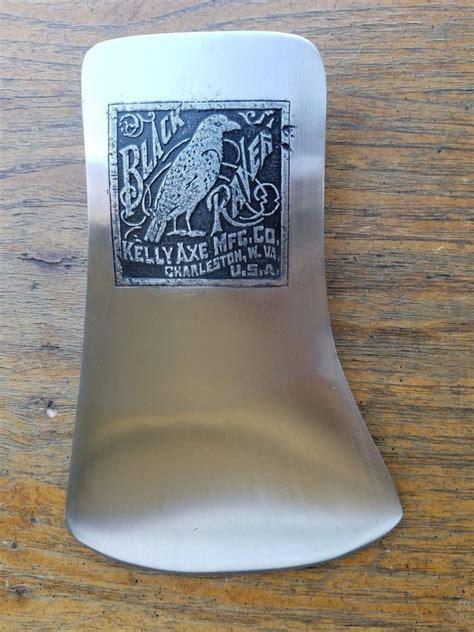 vintage black raven kelly axe mfg  single bit axe head