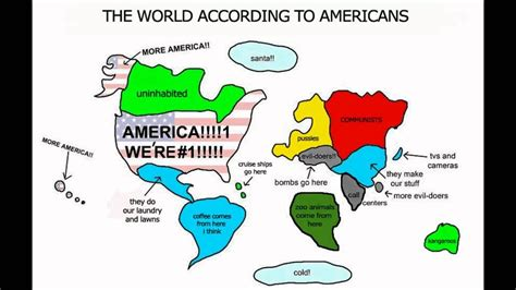 The world according to Americans - YouTube