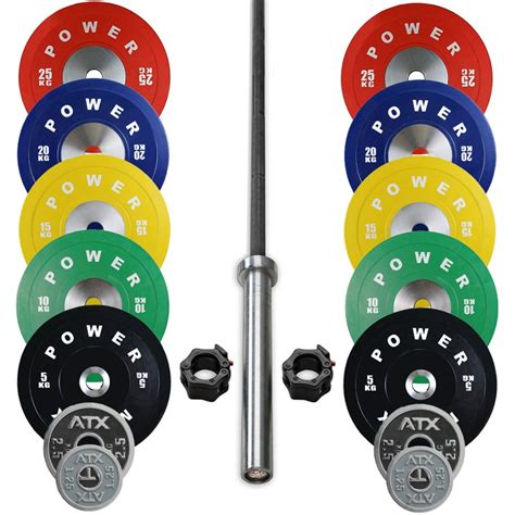 power maxx premium bumper package  kg sams fitness competition bumper plate package