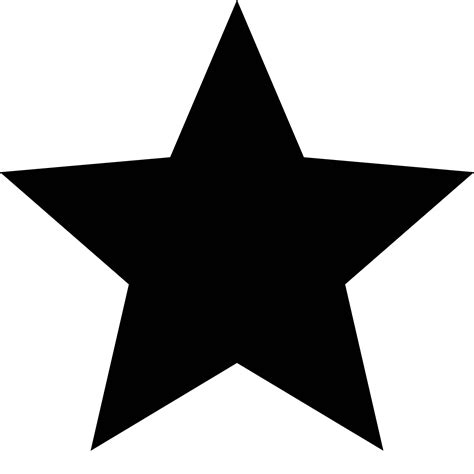 Best HD White Star Icon Png Vector Library Free Vector