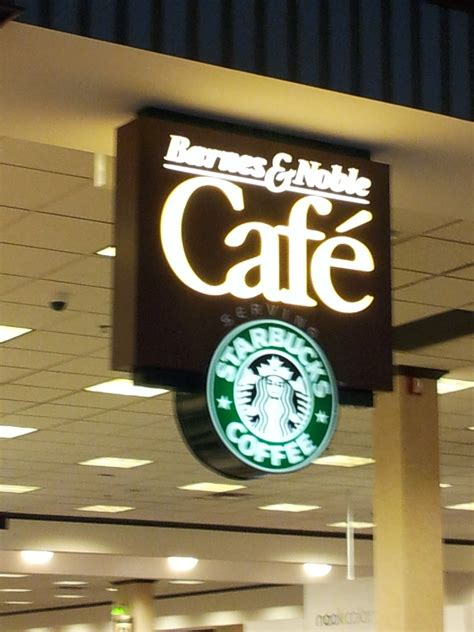 Great selection but its a bit smaller than your regular barnes and noble. Coffee? Yes, Please: Barnes & Noble Cafe on A and Benson