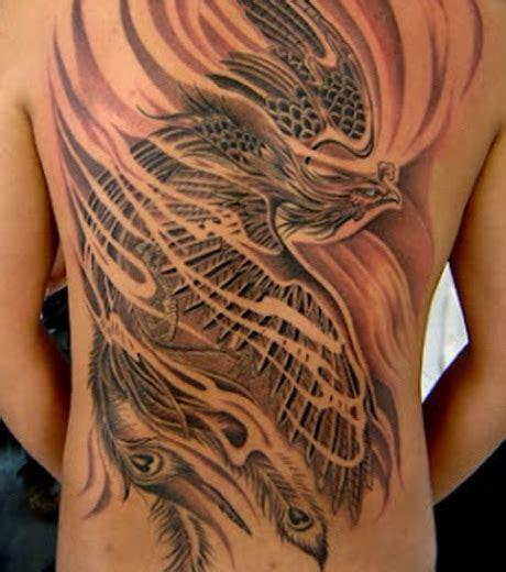 tatouage des motifs phenix absolument incroyables