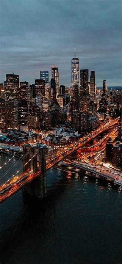 Iphone Bridge Aerial Buildings Wallpapers