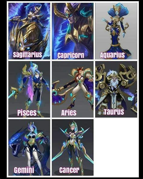 zodiac skins mobile legends amino amino