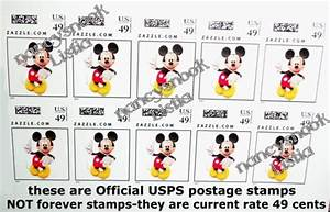 Free: 10 count 49cent USPS Postage Stamps- Mickey Mouse ...