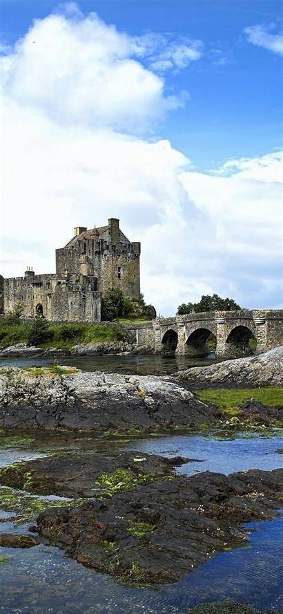 Scottish Iphone Wallpapers Eilean Donan Scotland Castle