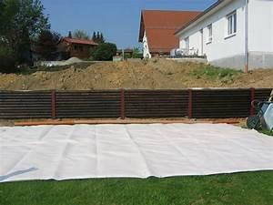 Holz Zum Bauen : holz st tzmauer bauanleitung zum selber bauen heimwerker ~ Lizthompson.info Haus und Dekorationen