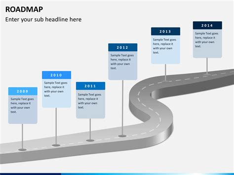 Road Map Powerpoint Template Free by Free Powerpoint Roadmap Template Cpanj Info