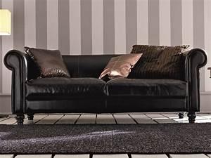 Canapé Art Déco : canap 3 places en cuir art d co collection dec by dall ~ Dode.kayakingforconservation.com Idées de Décoration