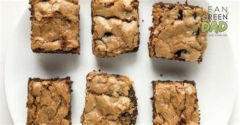 vegan cookie brownies  food plant based lean green dad