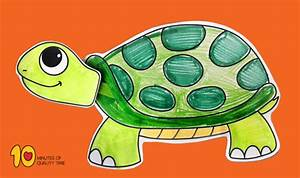 Turtle With Moving Head Paper Craft  U2013 10 Minutes Of