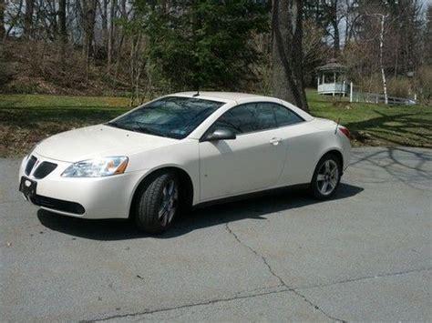 Find Used 2008 Pontiac G6 Gt Convertible 2-door 3.9l In