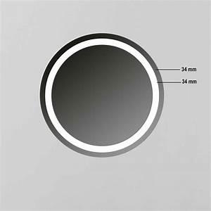 Led Spiegel Rund : rund wandspiegel led beleuchtung r401 technischdaten ~ Whattoseeinmadrid.com Haus und Dekorationen