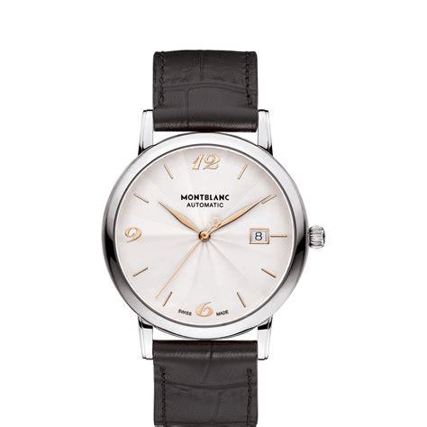montre de luxe homme mont blanc